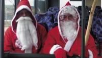 Nicht nur Weihnachtsmänner können am 06.12. vergünstigt  Bus fahren