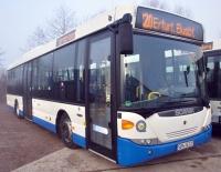 Moderner Scania-Linienbus