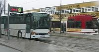 Linie 220 in Erfurt-Rieth